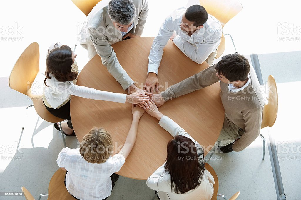 Business Union royalty-free stock photo