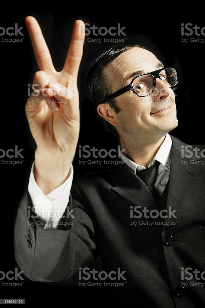 Business Victory royalty-free stock photo