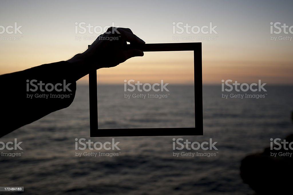 Business vision and creativity concept. stock photo