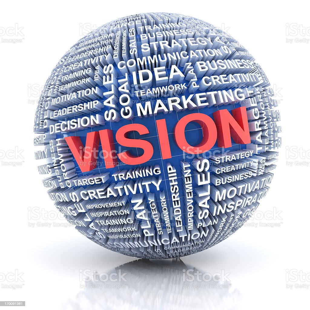 Business vision concept royalty-free stock photo