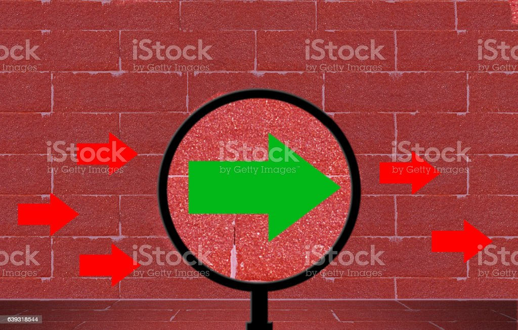 Business Vision Concept stock photo