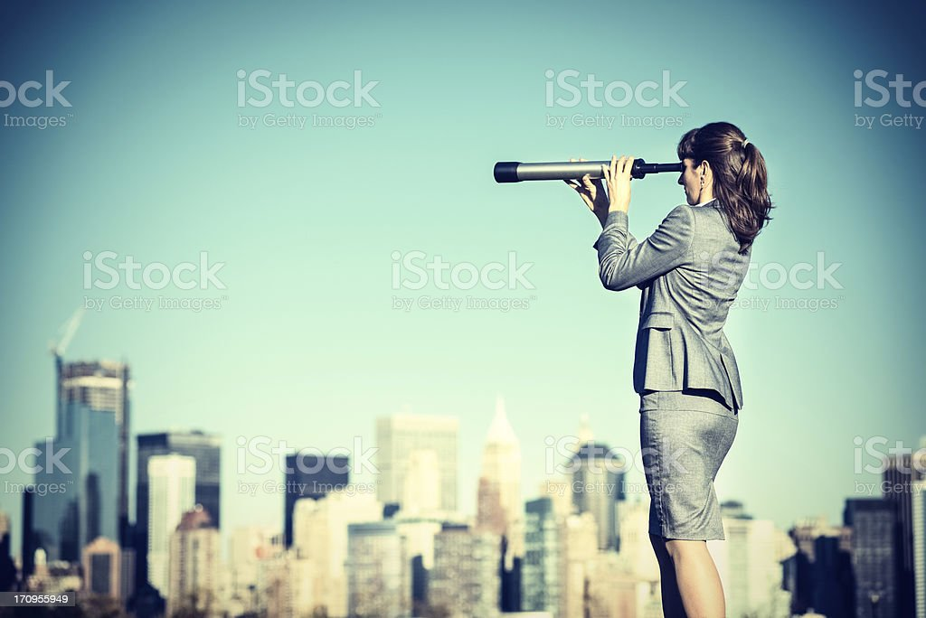 Business Vision stock photo