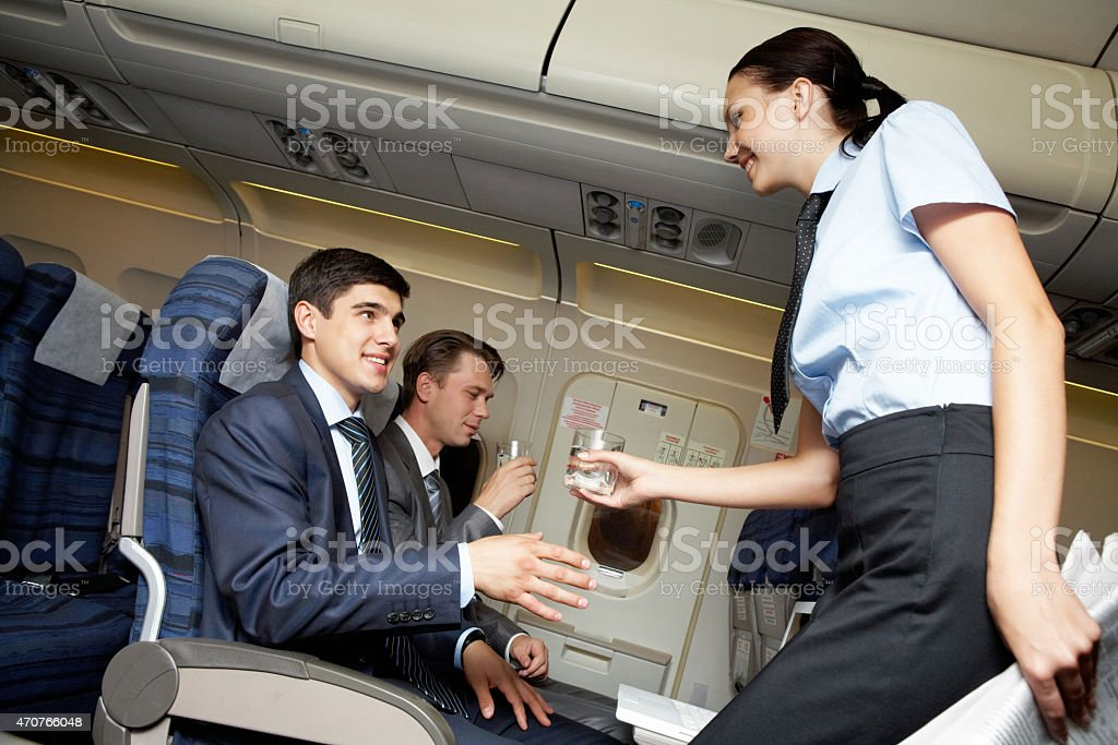 Business voyage stock photo