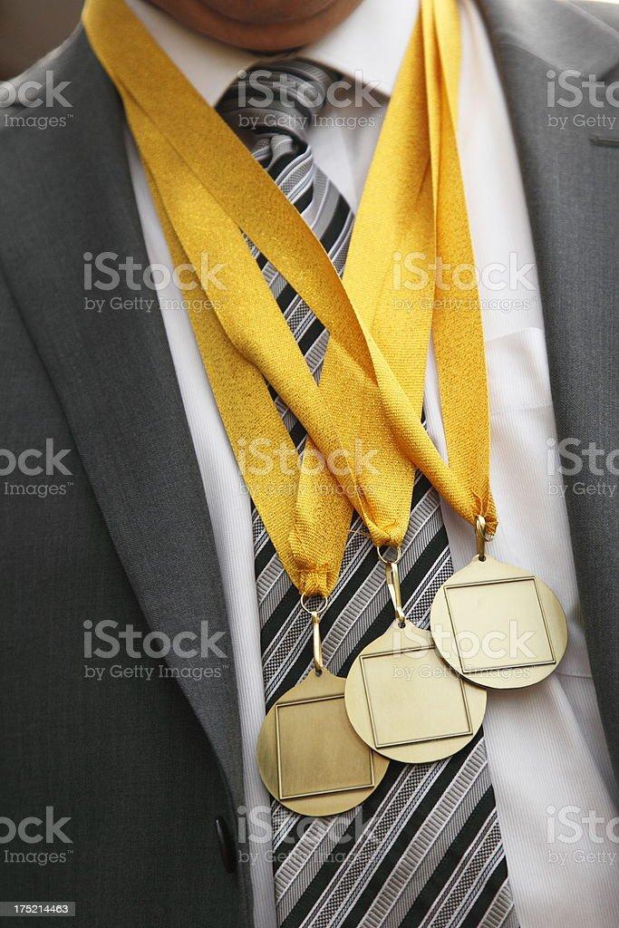 Business Winner royalty-free stock photo