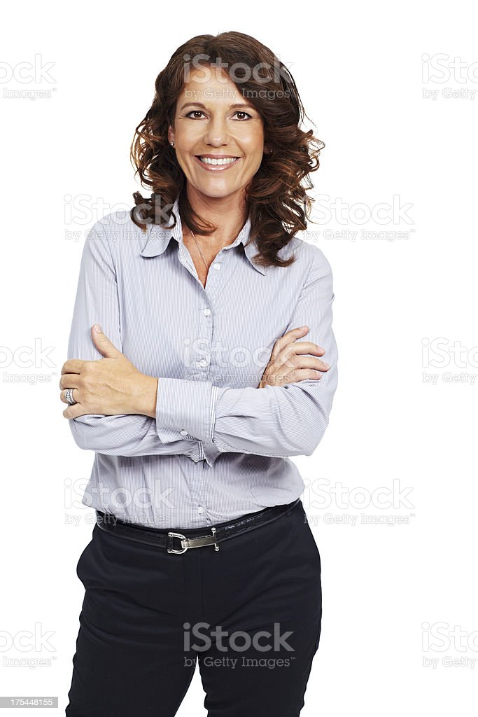 Business with a smile royalty-free stock photo