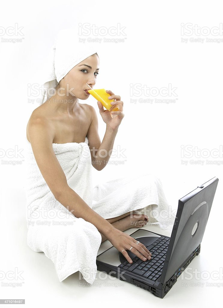 Business with pleasure royalty-free stock photo