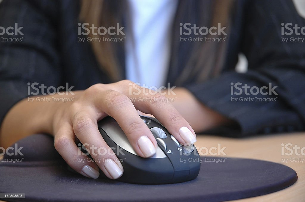 Business woman concept stock photo