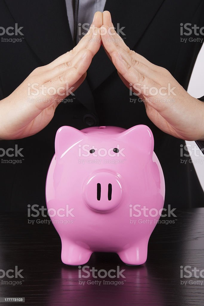 Business Woman Estate Hands royalty-free stock photo