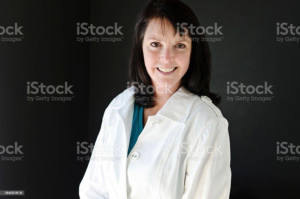 Business Woman Headshot stock photo