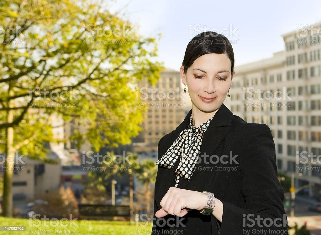Mujer de negocios foto de stock libre de derechos