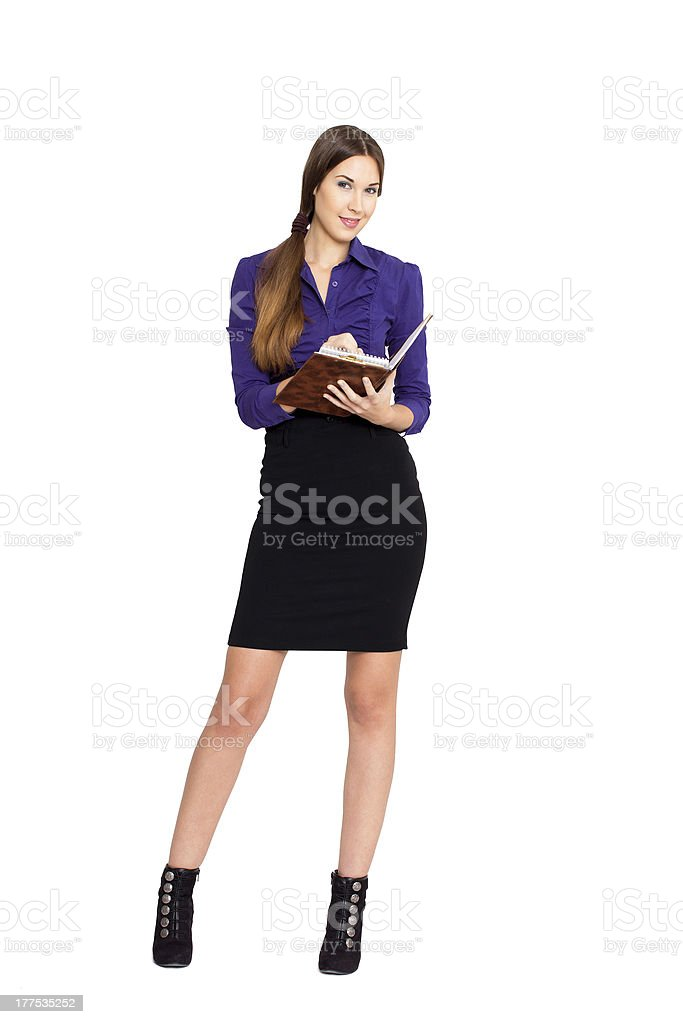 Business woman. royalty-free stock photo