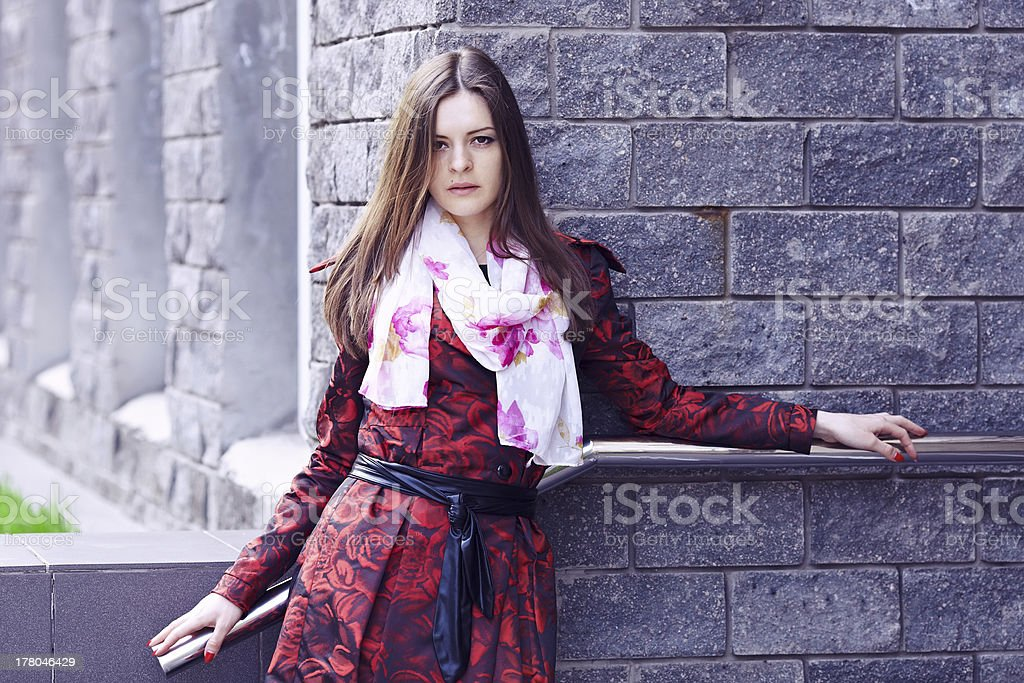 Donna d'affari foto stock royalty-free