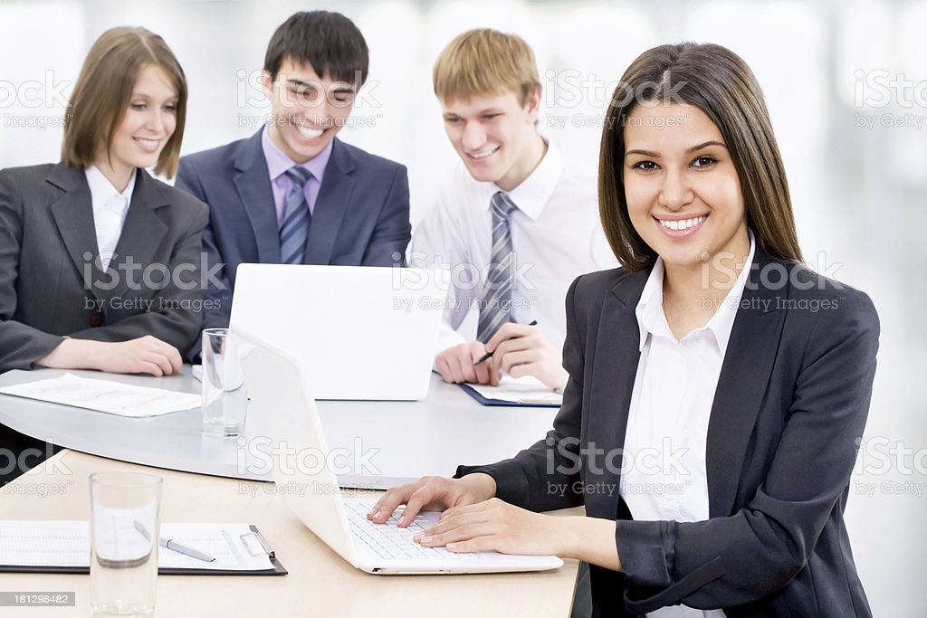 Business woman, royalty-free stock photo