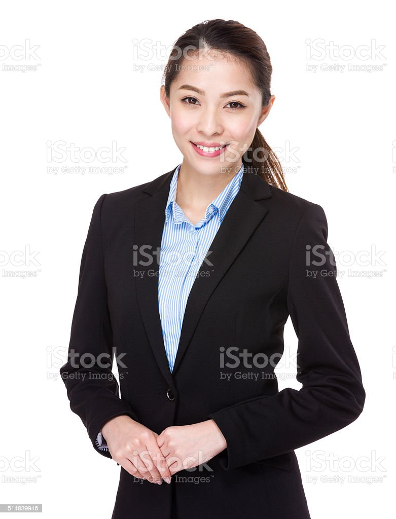 Business woman stock photo