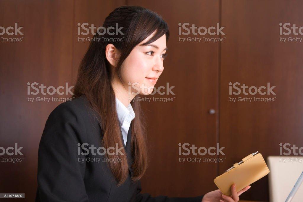 Business woman stock photo