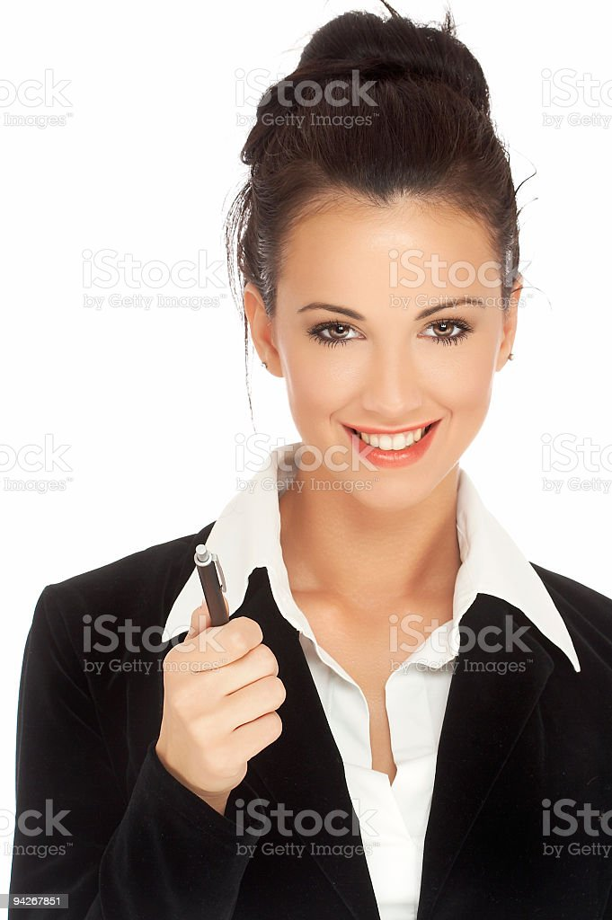 Business woman # 4 royalty-free stock photo