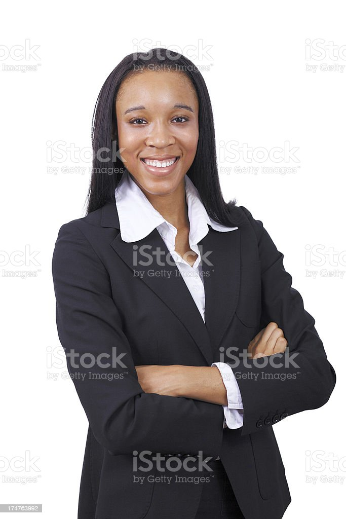 Business Woman Portrait royalty-free stock photo