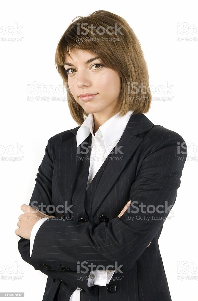 Business woman series royalty-free stock photo