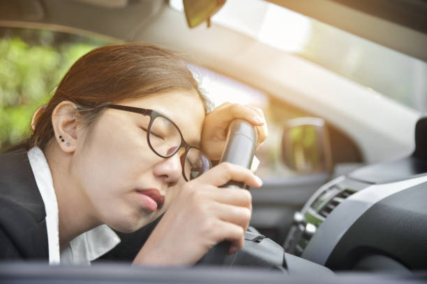 trouble staying awake while driving