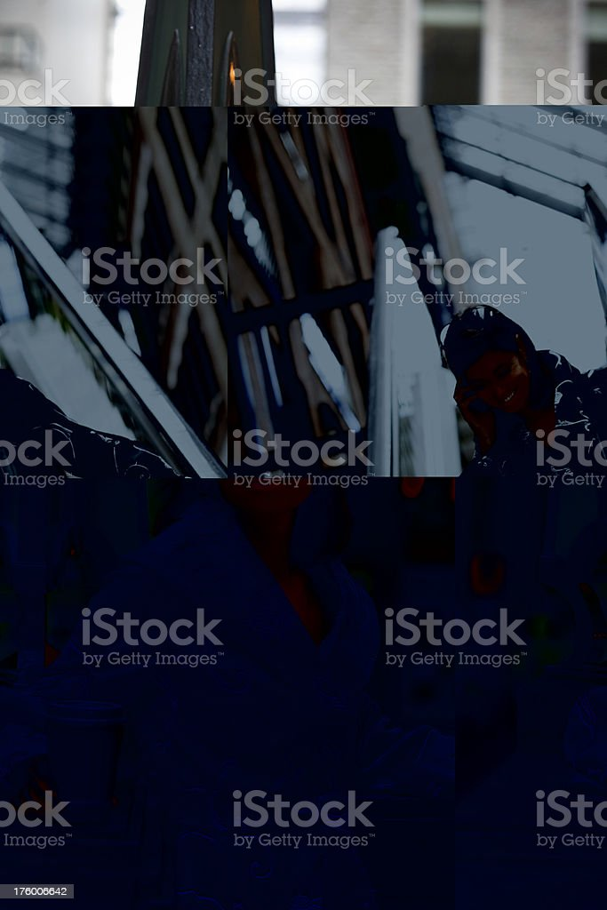 Business Woman Taking Break with Coffee royalty-free stock photo