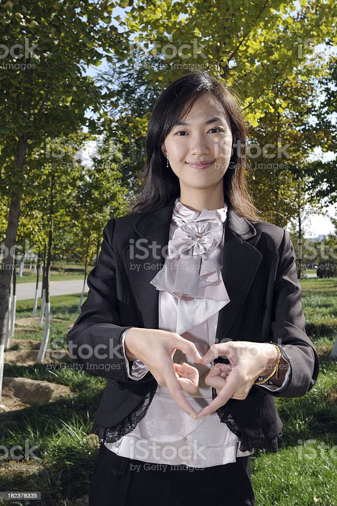 Business Woman - XLarge royalty-free stock photo