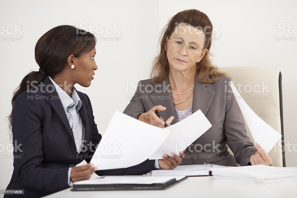 Business women meeting. royalty-free stock photo
