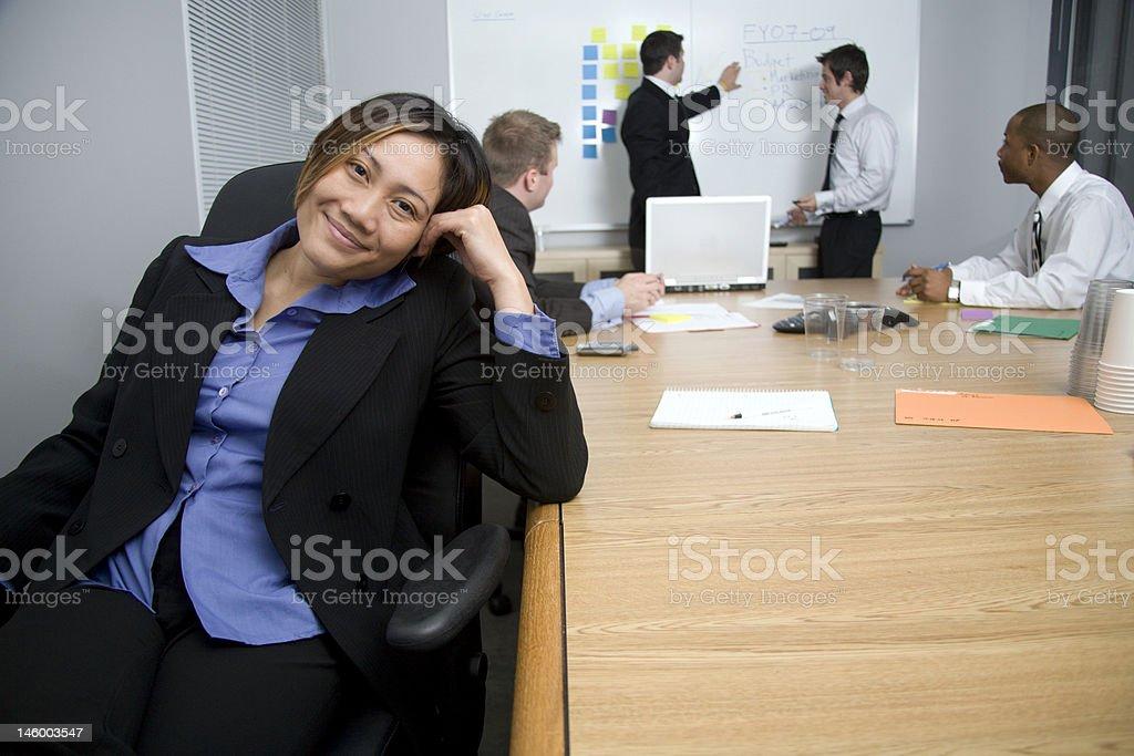Business women portrait royalty-free stock photo