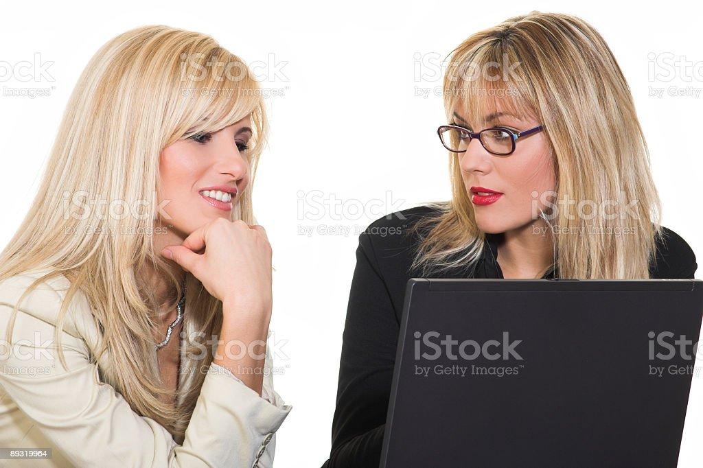 Business women team royalty-free stock photo