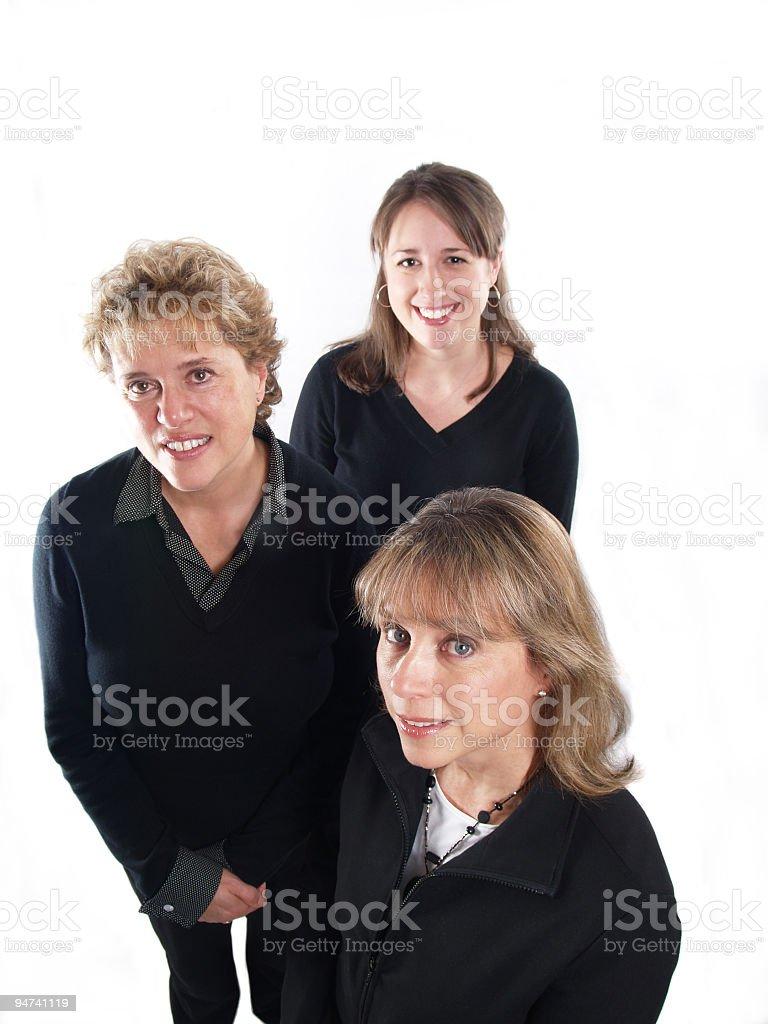 Business Women Three royalty-free stock photo