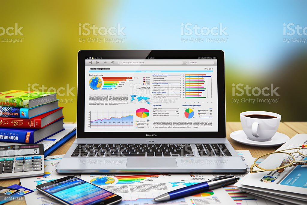 Business work concept stock photo