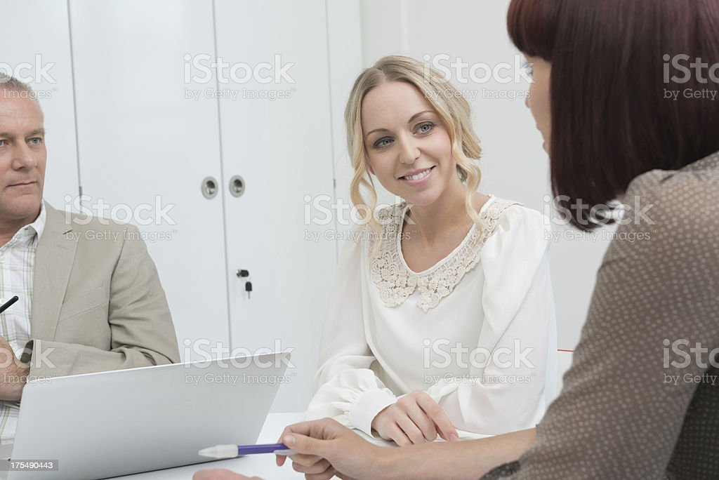 Business Workers In Meeting royalty-free stock photo