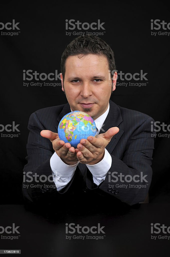 business world royalty-free stock photo