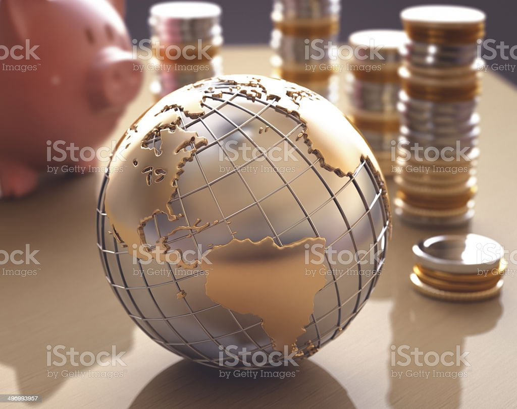 Business World stock photo