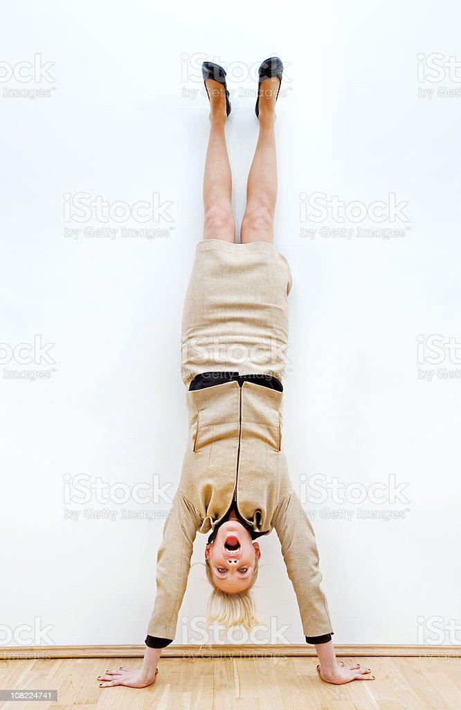 Business Yoga stock photo