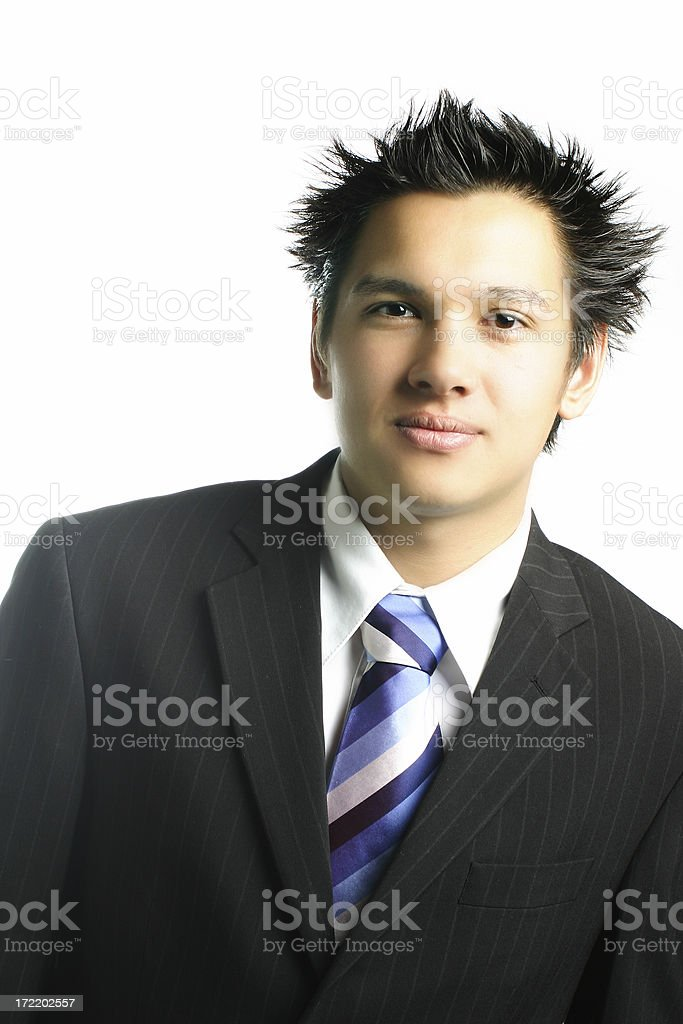 Business - Young Adult Male royalty-free stock photo