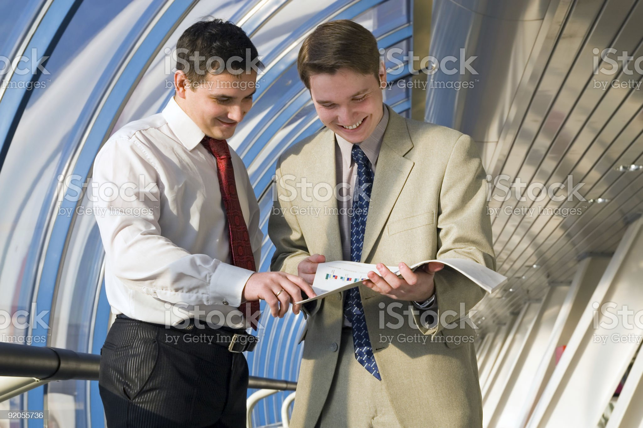Business young men royalty-free stock photo