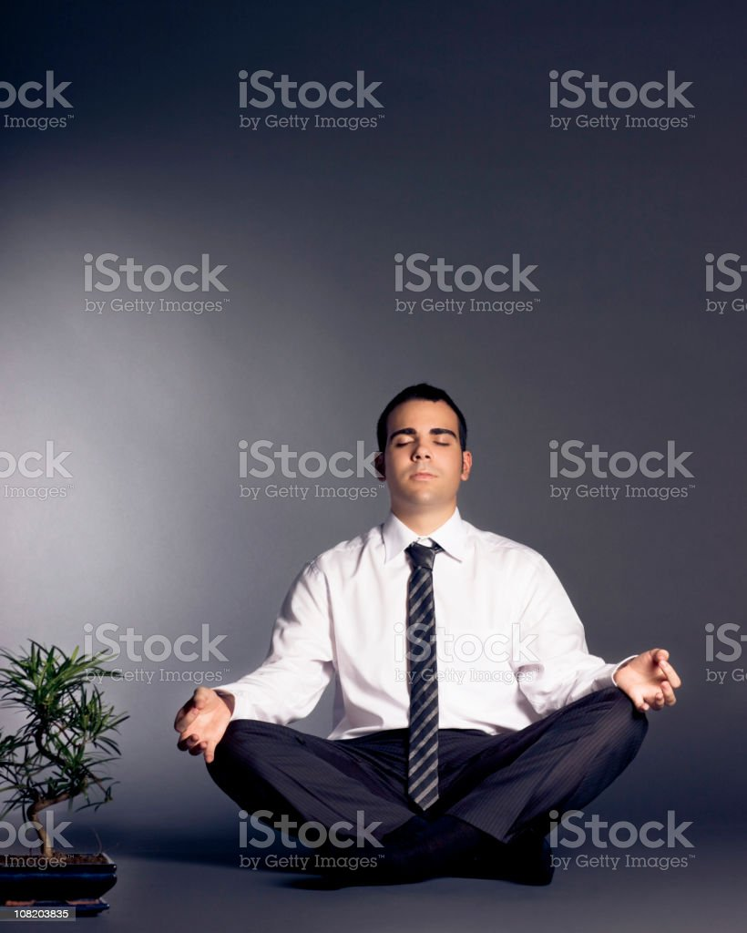 Business Zen royalty-free stock photo