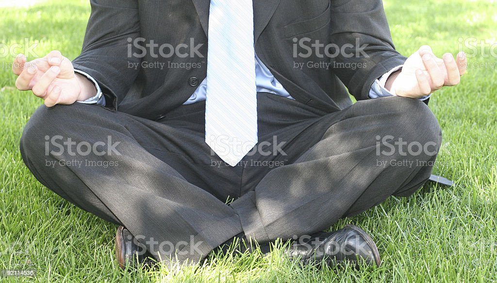business zen stock photo