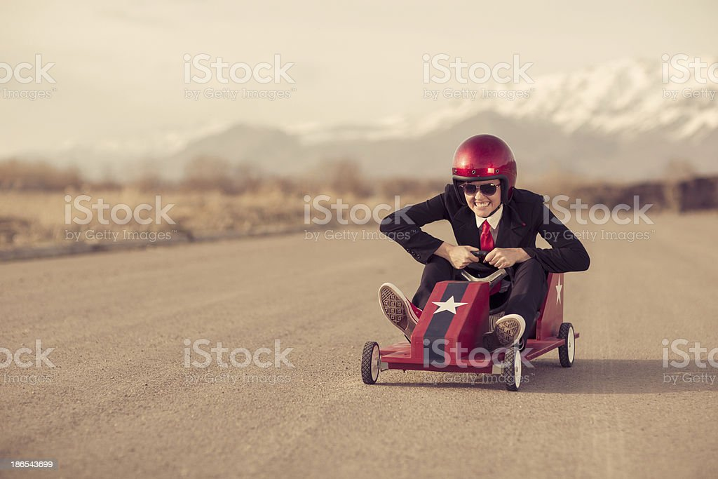 Business Zoom stock photo