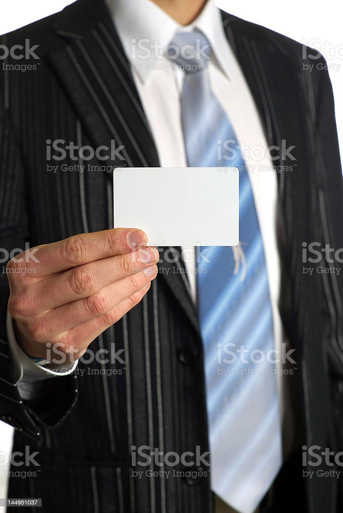 Businesscard royalty-free stock photo