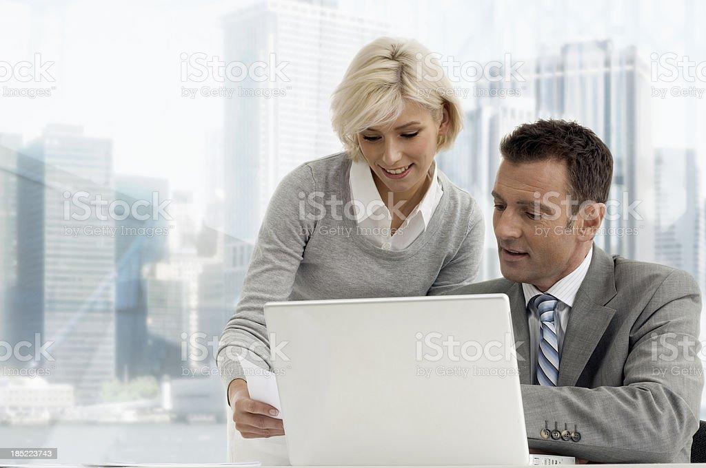 Businesscouple royalty-free stock photo