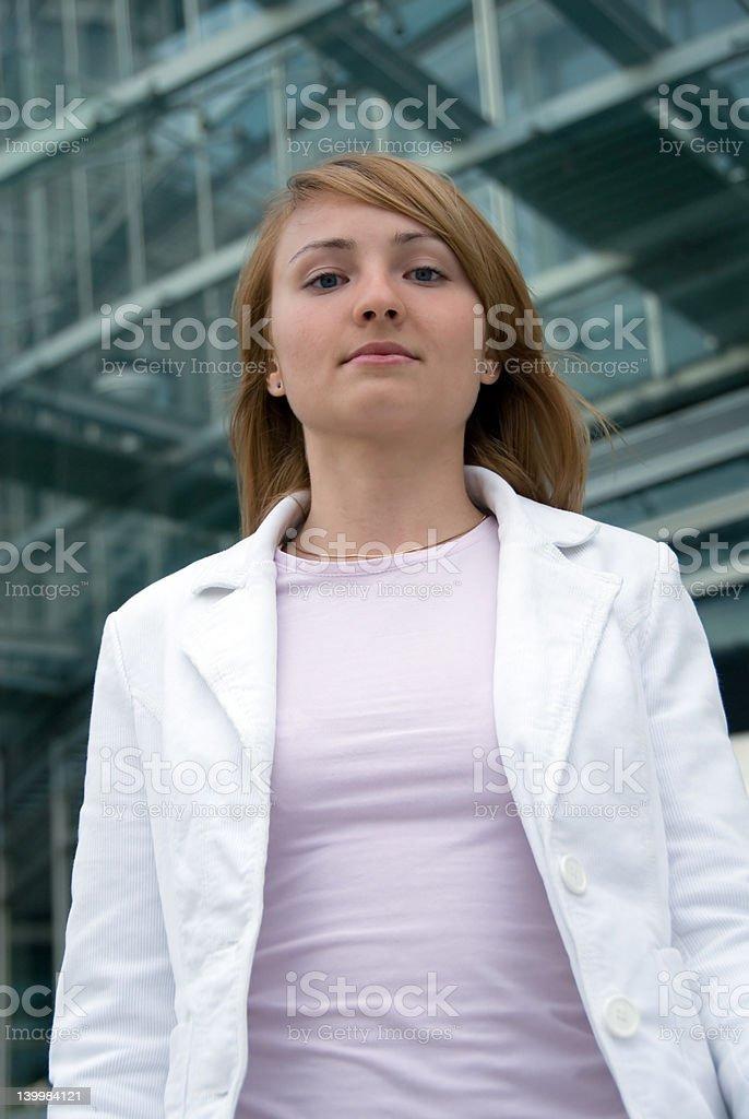 businessgirl royalty-free stock photo