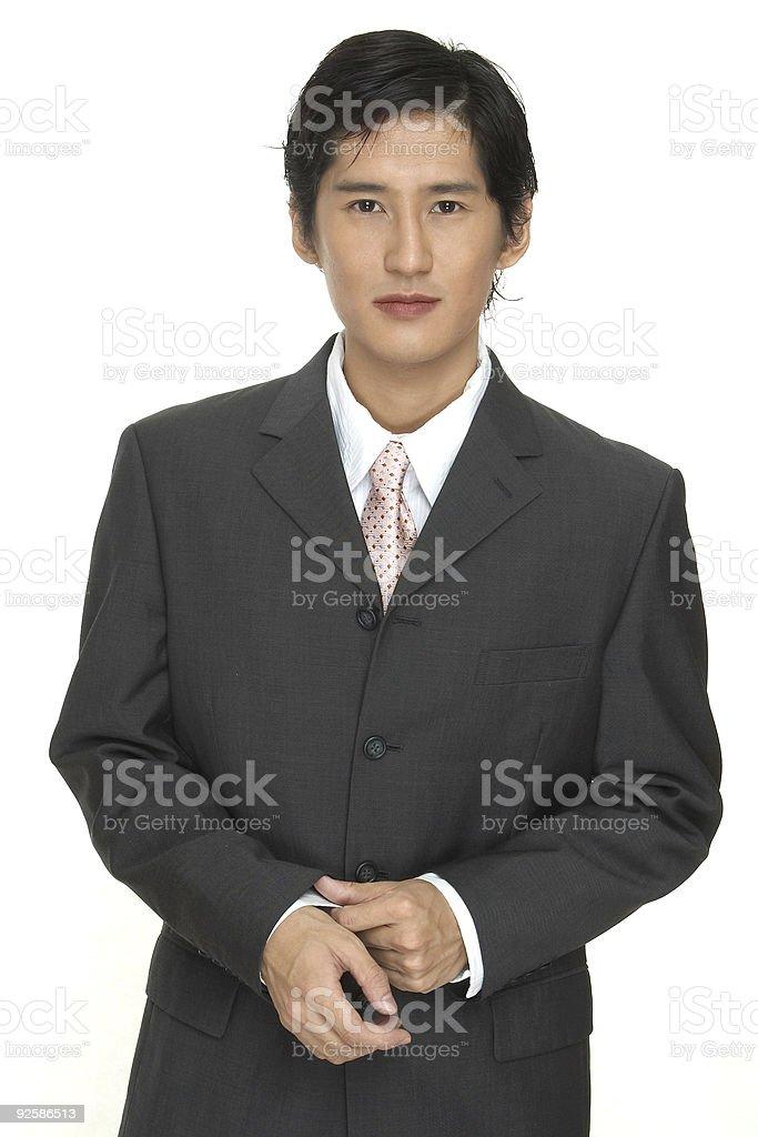 Businessman 1 royalty-free stock photo