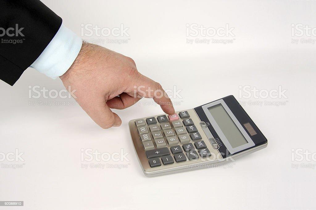 Businessman Account royalty-free stock photo