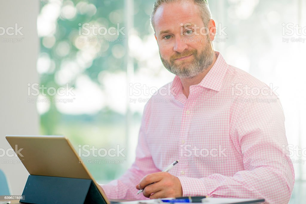 Businessman and CEO stock photo