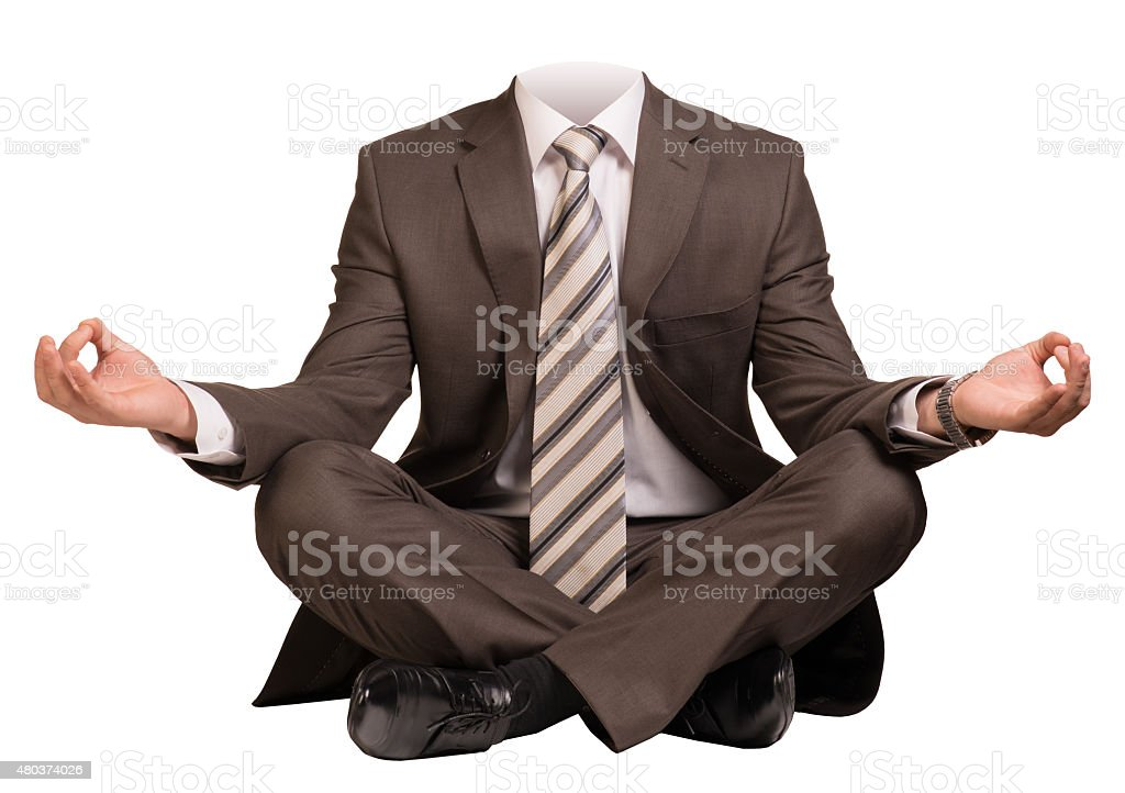 Businessman body stock photo