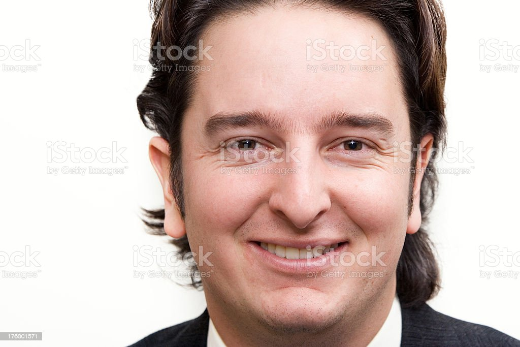 Businessman close up royalty-free stock photo