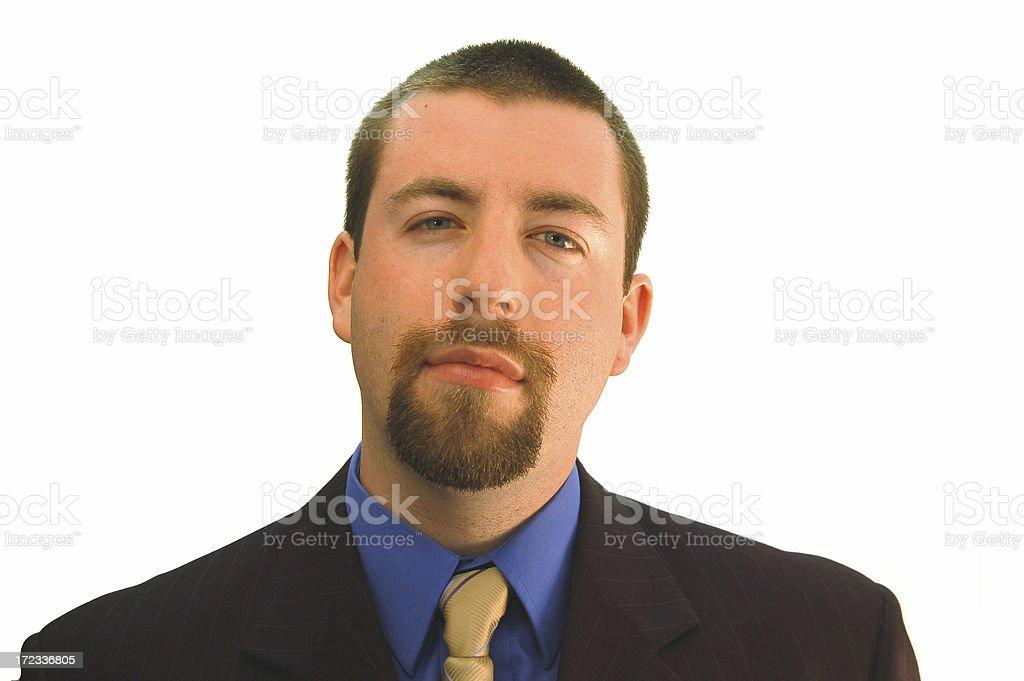 Businessman Considering royalty-free stock photo