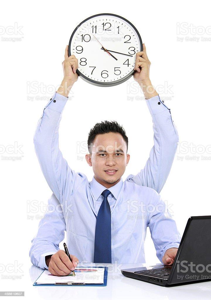 businessman dateline concept stock photo