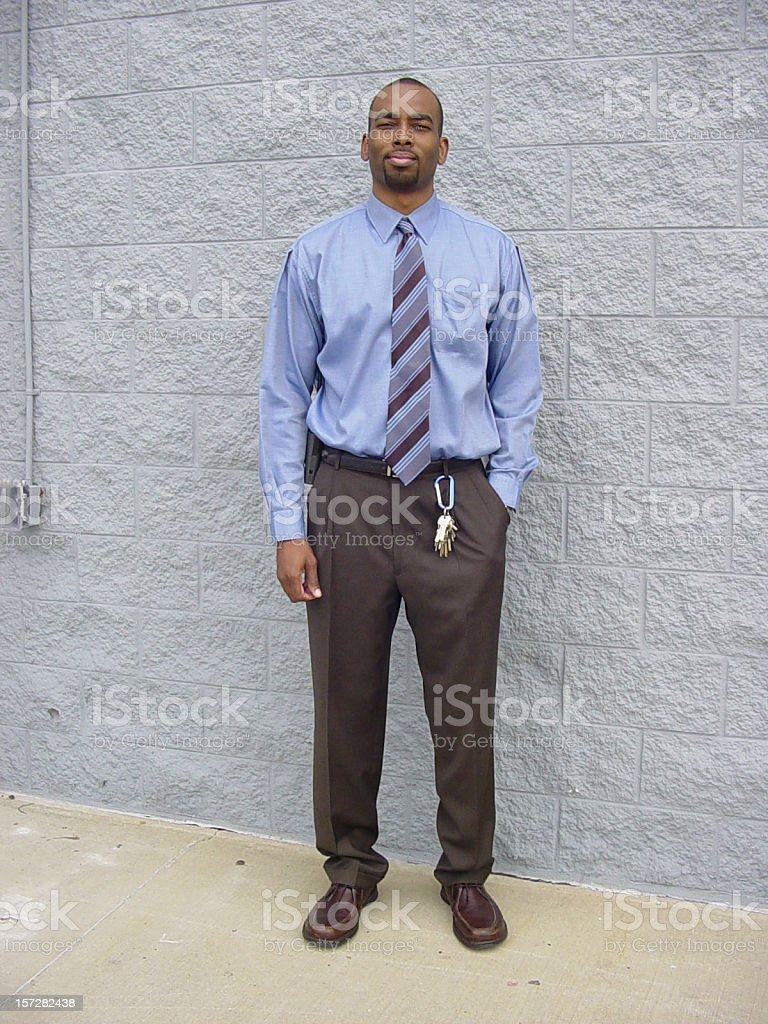 Businessman Full Body royalty-free stock photo